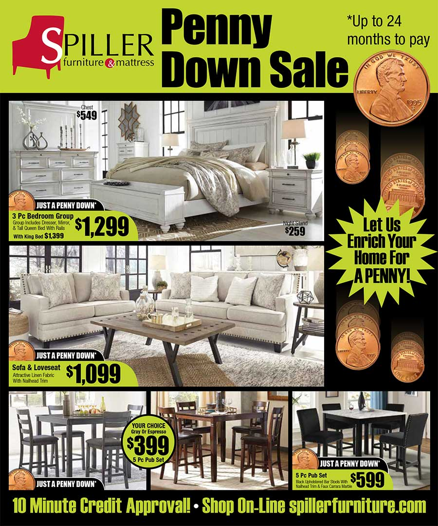 Penny Down Sale