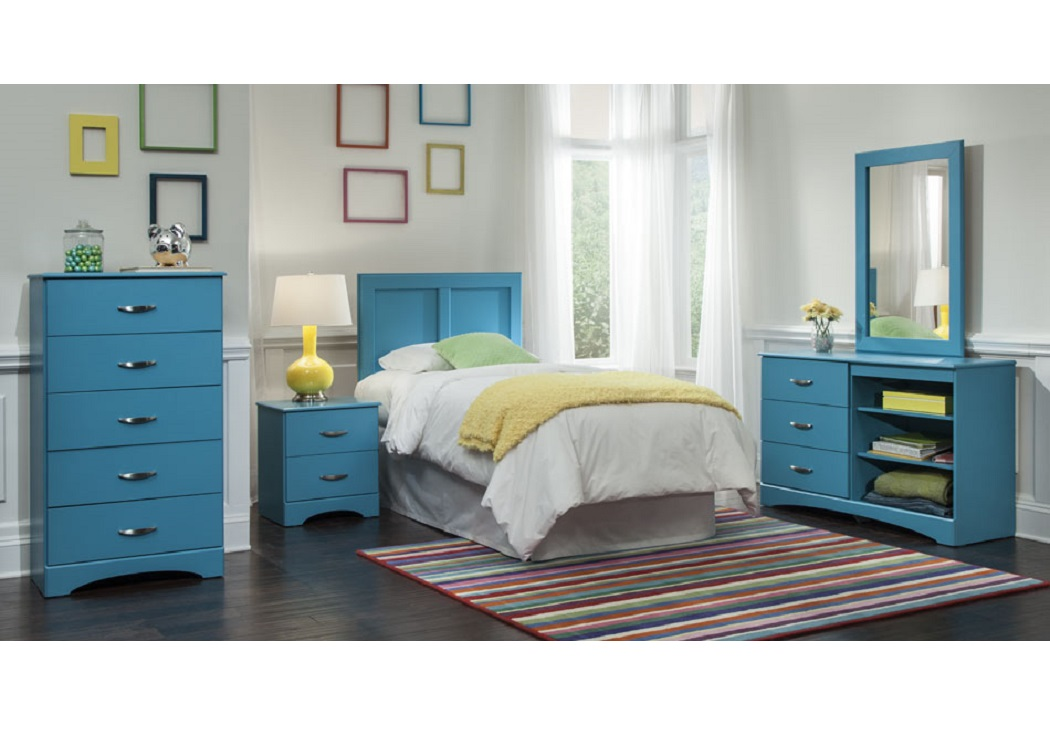 Turquoise Full/Queen Headboard,Kith