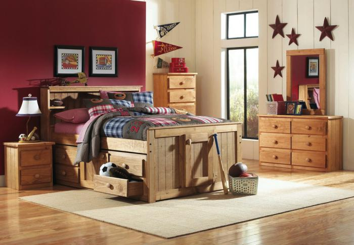 Full Captain's Bed w/Door & Drawer,Simply Bunk Beds